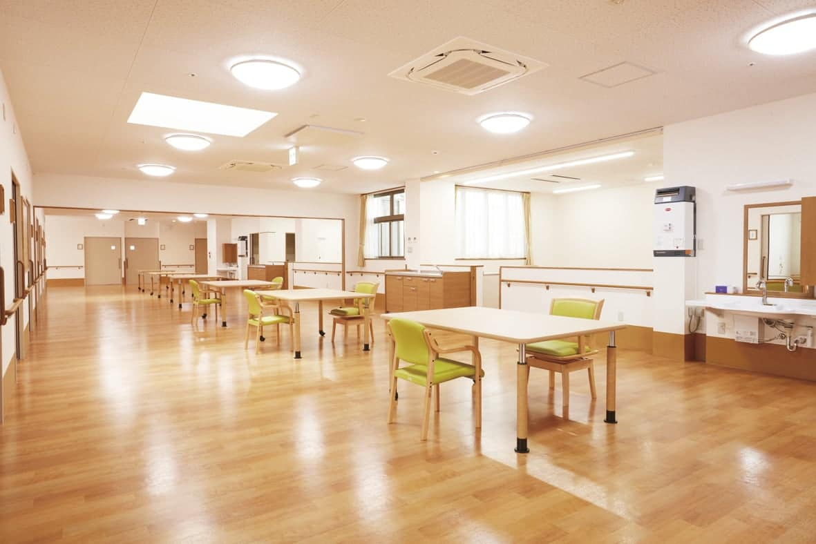 1F / 食堂・機能訓練室